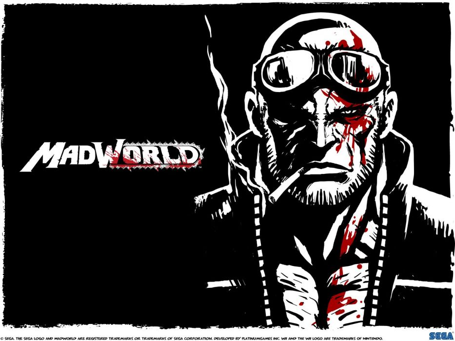 MADWORLD sega action sandbox dark warrior (12) wallpaper