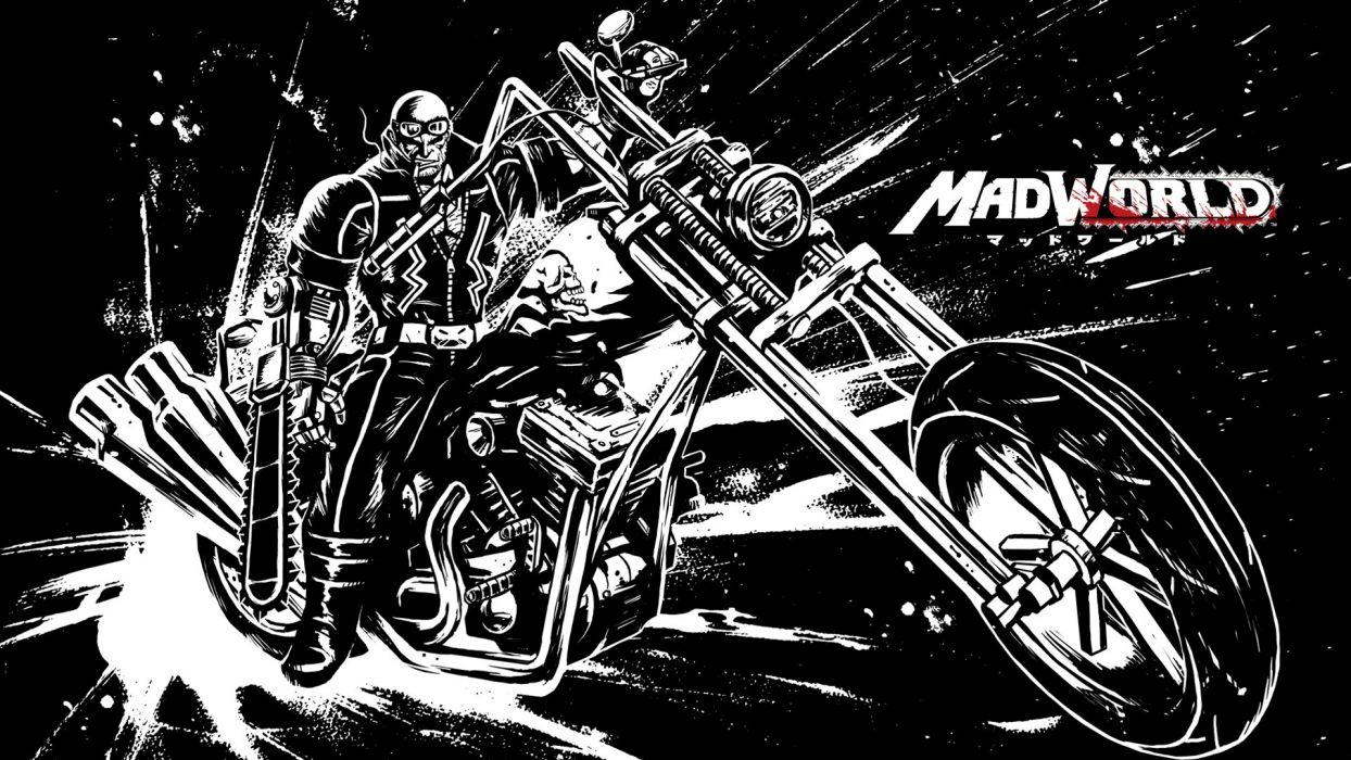 MADWORLD sega action sandbox dark warrior (13) wallpaper