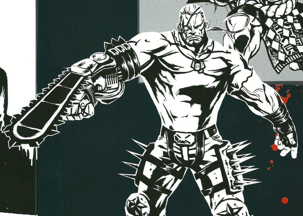 MADWORLD sega action sandbox dark warrior (17) wallpaper