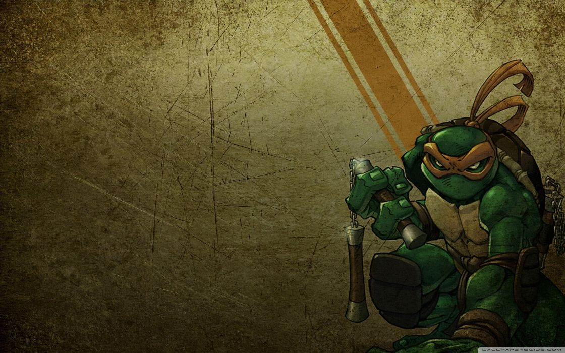 Michelangelo Teenage Mutant Ninja Turtles Wallpaper