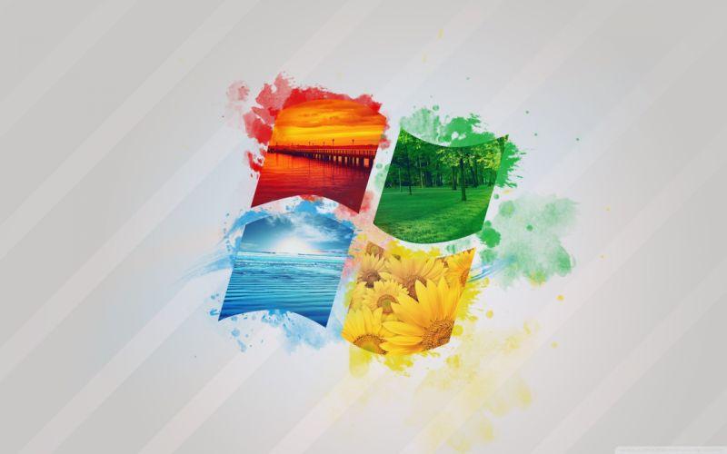 windows nature logo-wallpaper-2560x1600 wallpaper