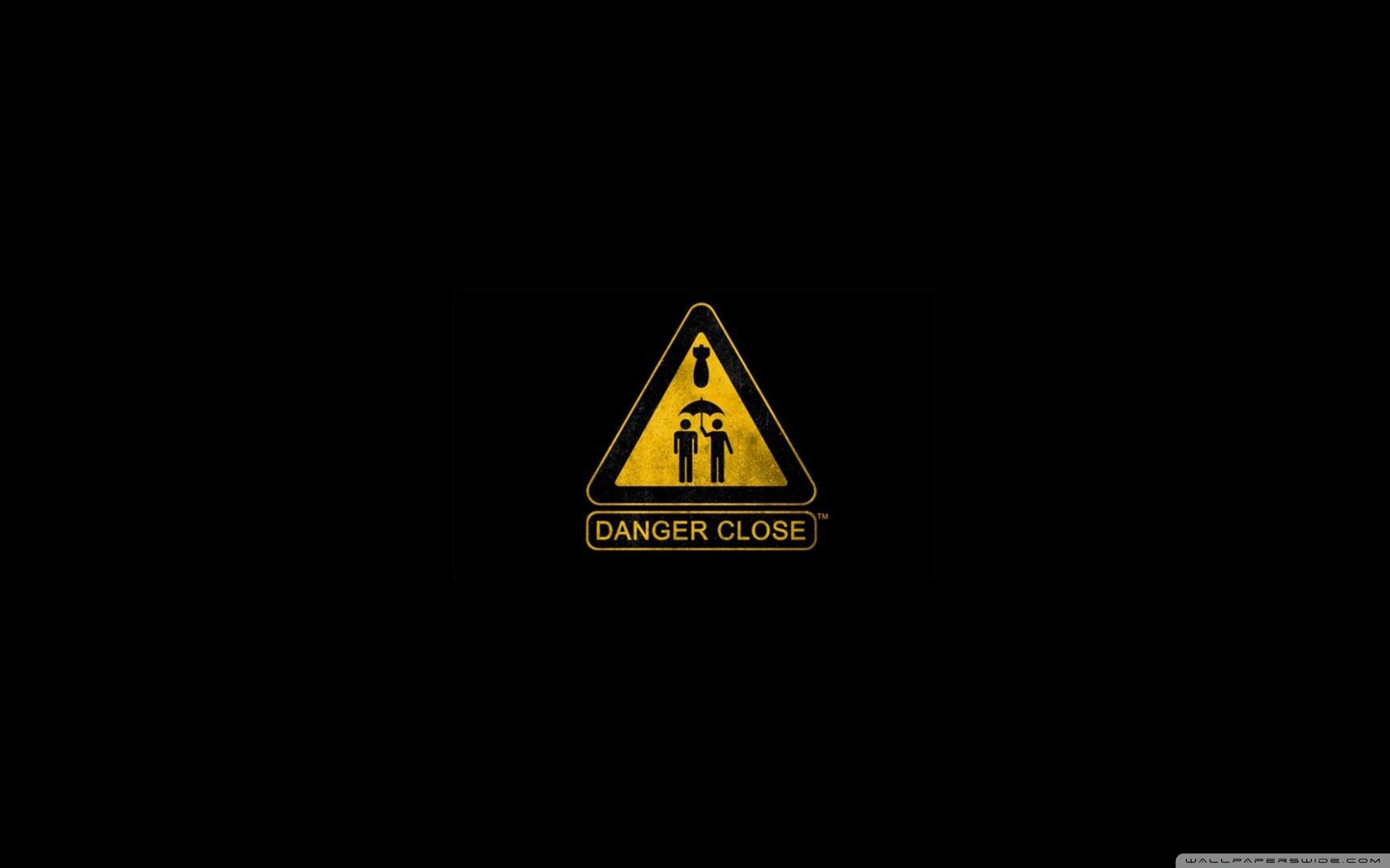 Warning Sign-wallpaper-2560x1600 Wallpaper