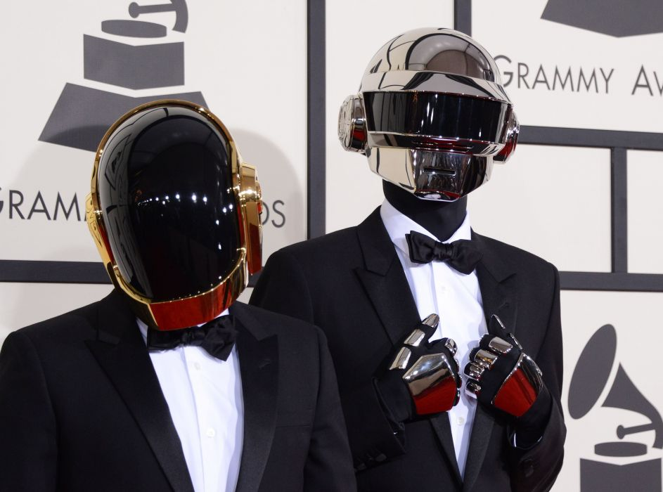 DAFT PUNK electronic house electro mask robot sci-fi (1) wallpaper