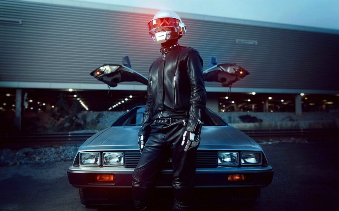 DAFT PUNK electronic house electro mask robot sci-fi (2) wallpaper