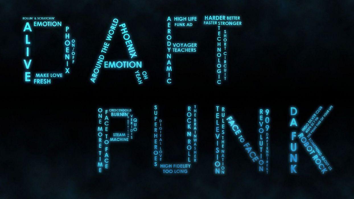 DAFT PUNK electronic house electro mask robot sci-fi (15) wallpaper