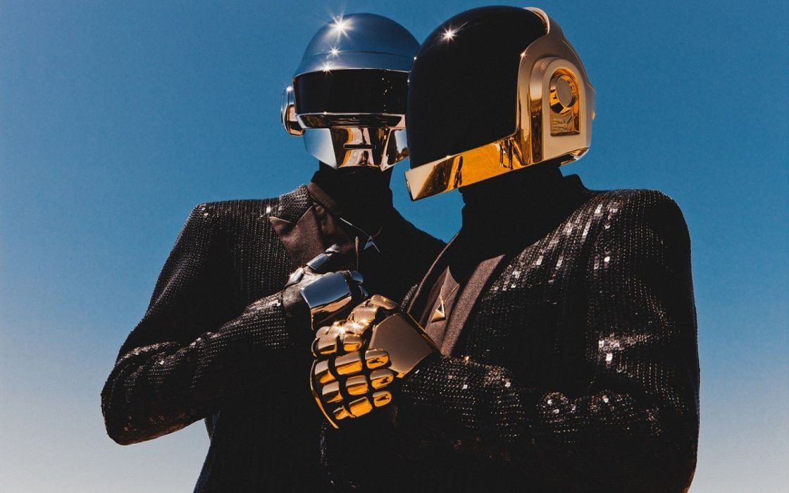 DAFT PUNK electronic house electro mask robot sci-fi (22) wallpaper