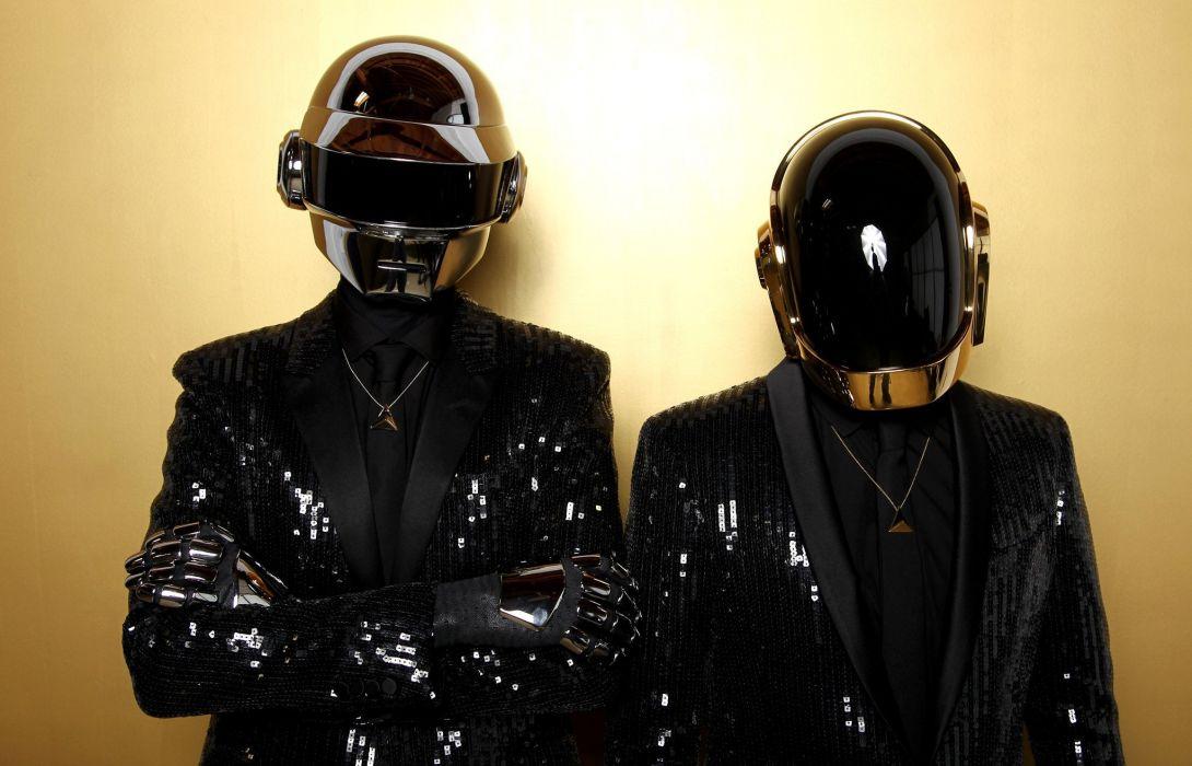 DAFT PUNK electronic house electro mask robot sci-fi (36) wallpaper