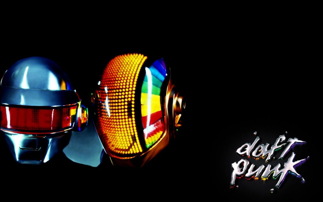DAFT PUNK electronic house electro mask robot sci-fi (41) wallpaper