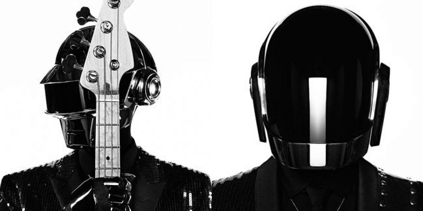DAFT PUNK electronic house electro mask robot sci-fi (46) wallpaper