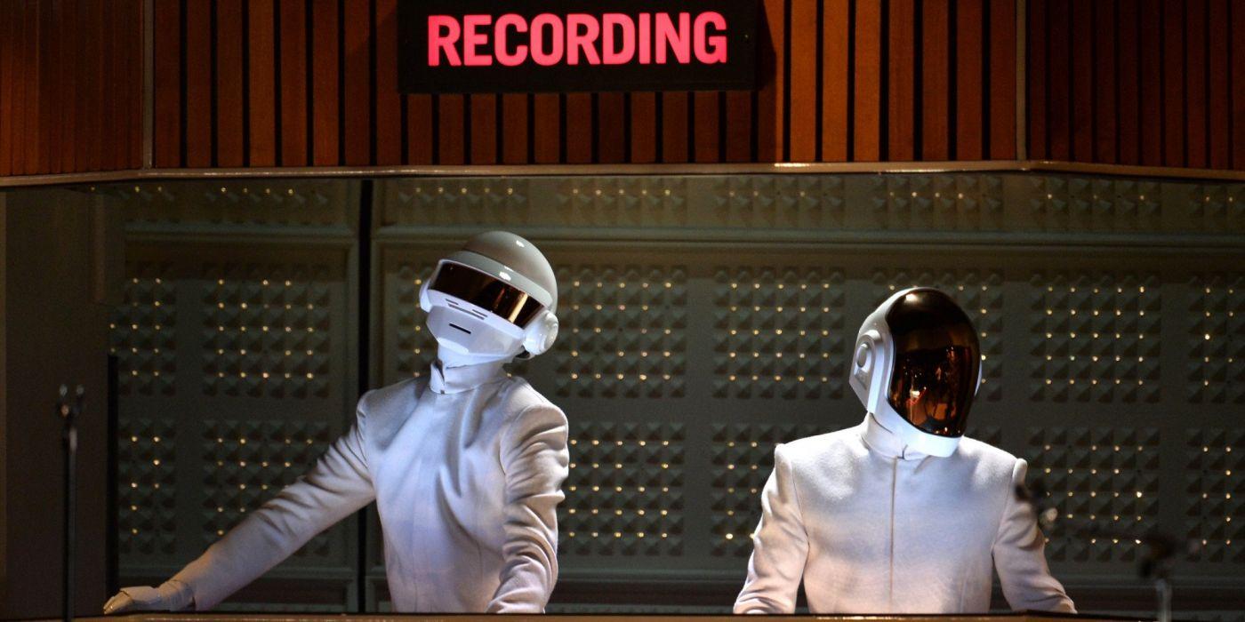 DAFT PUNK electronic house electro mask robot sci-fi (47) wallpaper