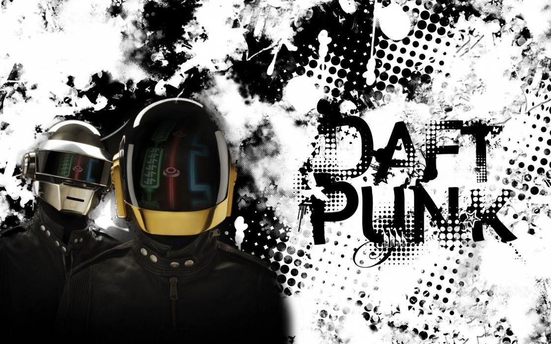 DAFT PUNK electronic house electro mask robot sci-fi (58) wallpaper