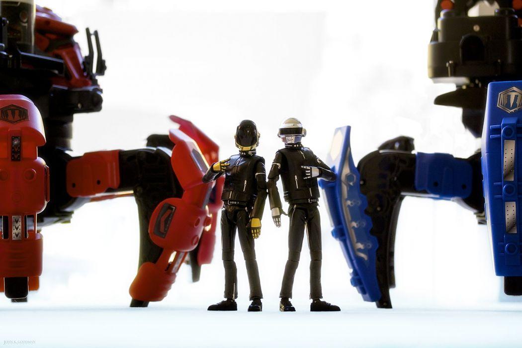 DAFT PUNK electronic house electro mask robot sci-fi (63) wallpaper