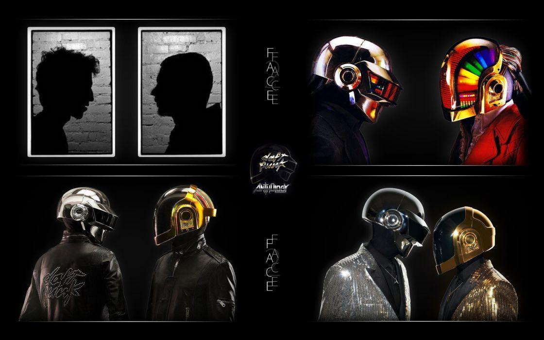 DAFT PUNK electronic house electro mask robot sci-fi (64) wallpaper