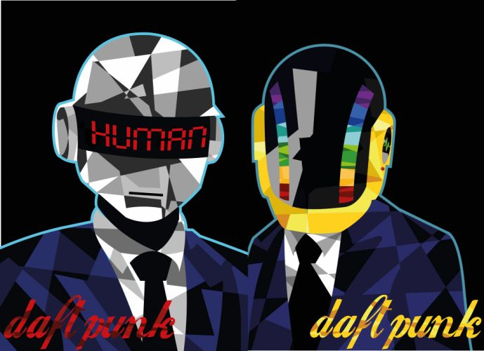 DAFT PUNK electronic house electro mask robot sci-fi (67) wallpaper