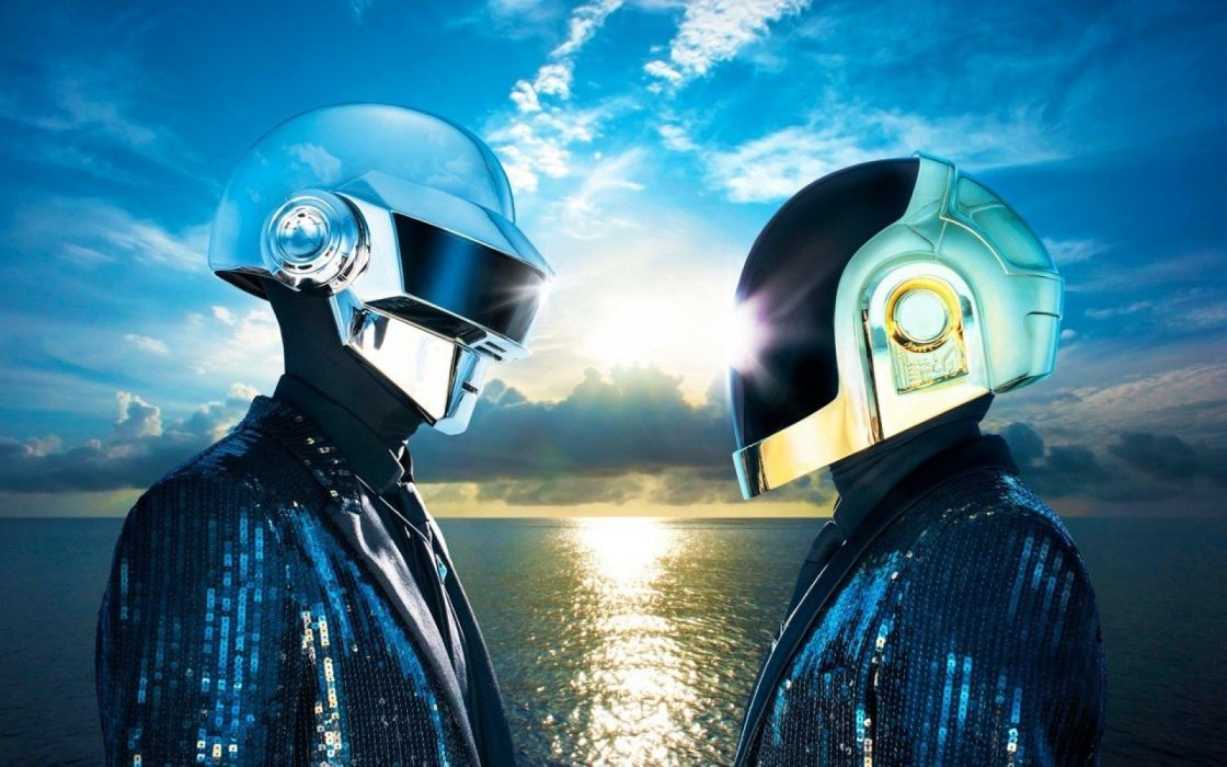 DAFT PUNK electronic house electro mask robot sci-fi (79) wallpaper
