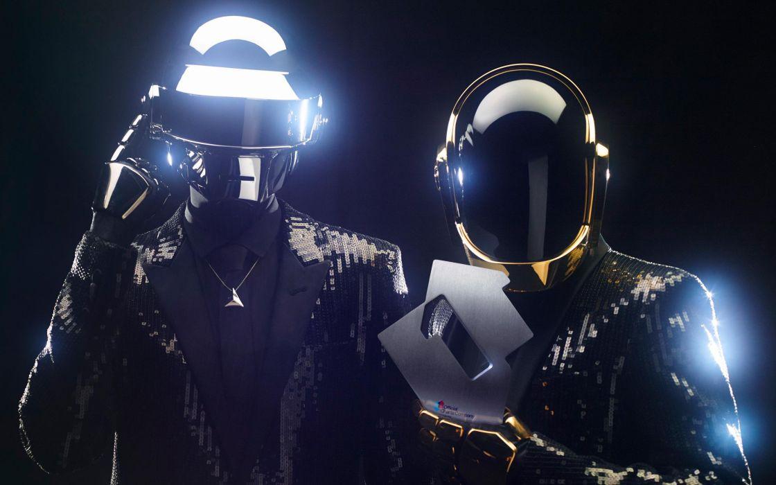 DAFT PUNK electronic house electro mask robot sci-fi (80) wallpaper