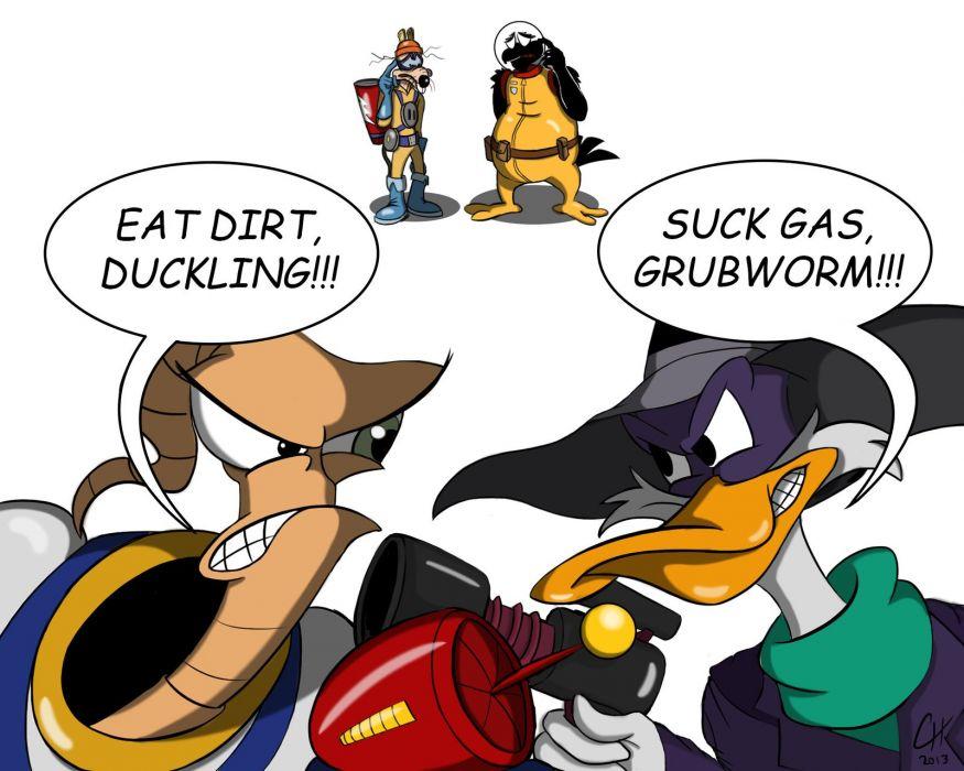 EARTHWORM JIM adventure animation comedy cartoon (2) wallpaper