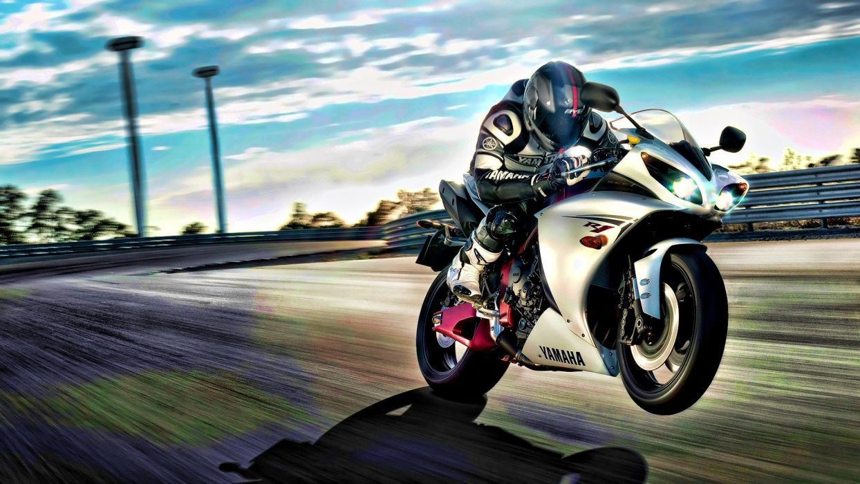 vehicles motorbikes yamaha R1 wallpaper
