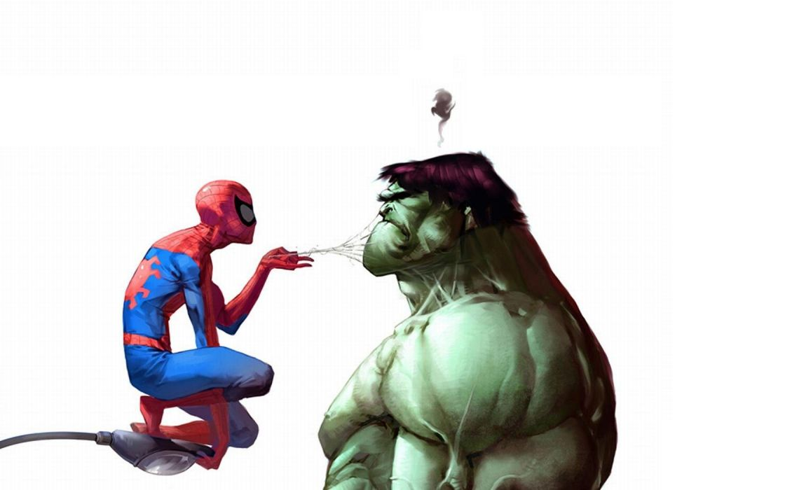 Hulk (comic character) Spider-Man Marvel Comics wallpaper