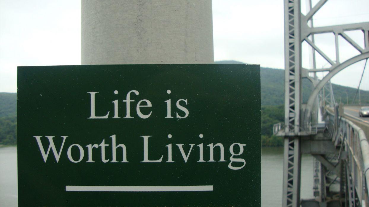 signs bridges Inspiration wallpaper