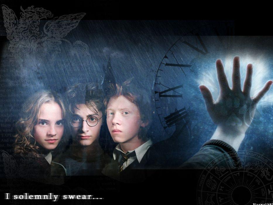 Emma Watson Harry Potter Daniel Radcliffe Rupert Grint Hermione Granger Ron Weasley wallpaper