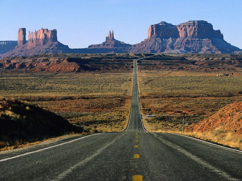 roads wallpaper