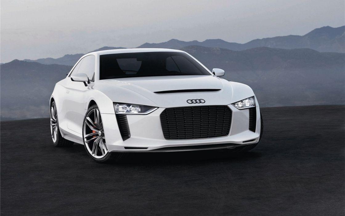 cars Audi concept art wallpaper