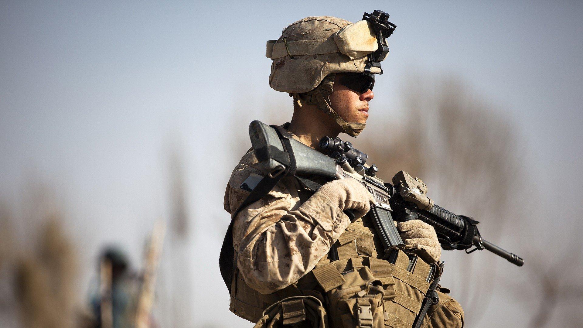 Soldiers war guns army Afghanistan US Marines Corps soldat ...