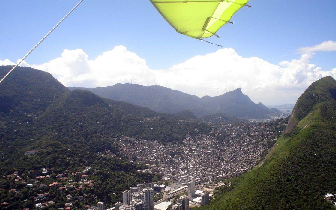 Rio De Janeiro slum Rocinha wallpaper