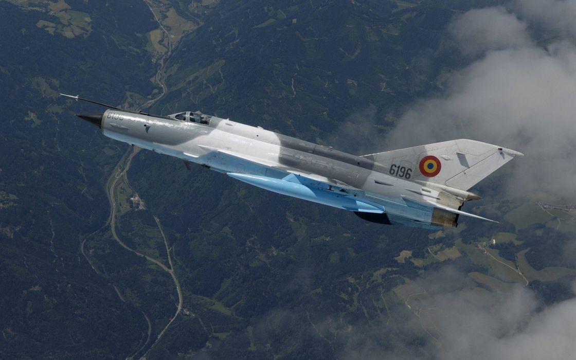 flight MIG-21 Fishbed jets wallpaper