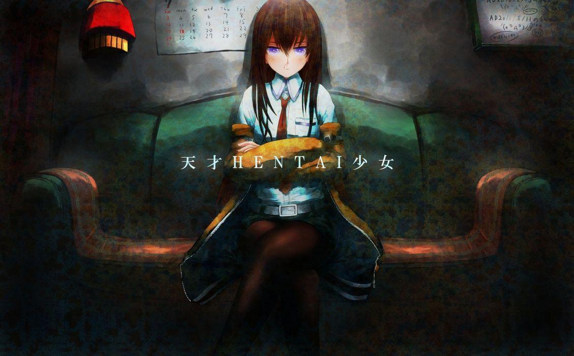 Steins;Gate Makise Kurisu anime girls wallpaper