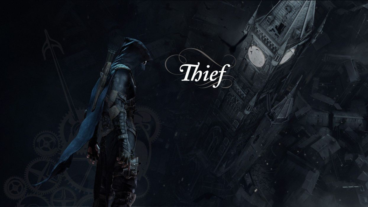 video games archers fantasy art thief hood Thief 4 wallpaper