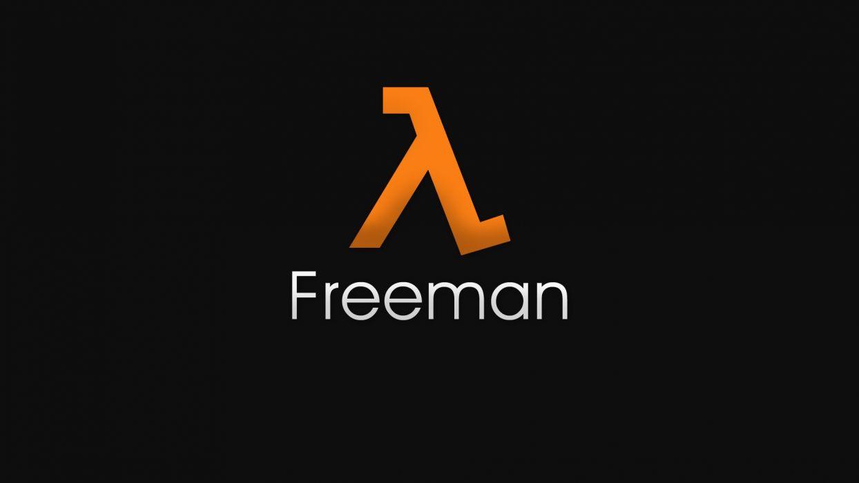 Half-Life Gordon Freeman lambda wallpaper