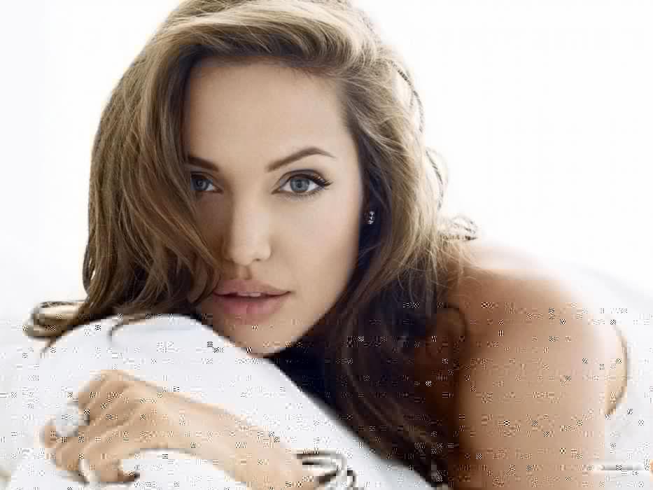 brunettes women actress Angelina Jolie models wallpaper