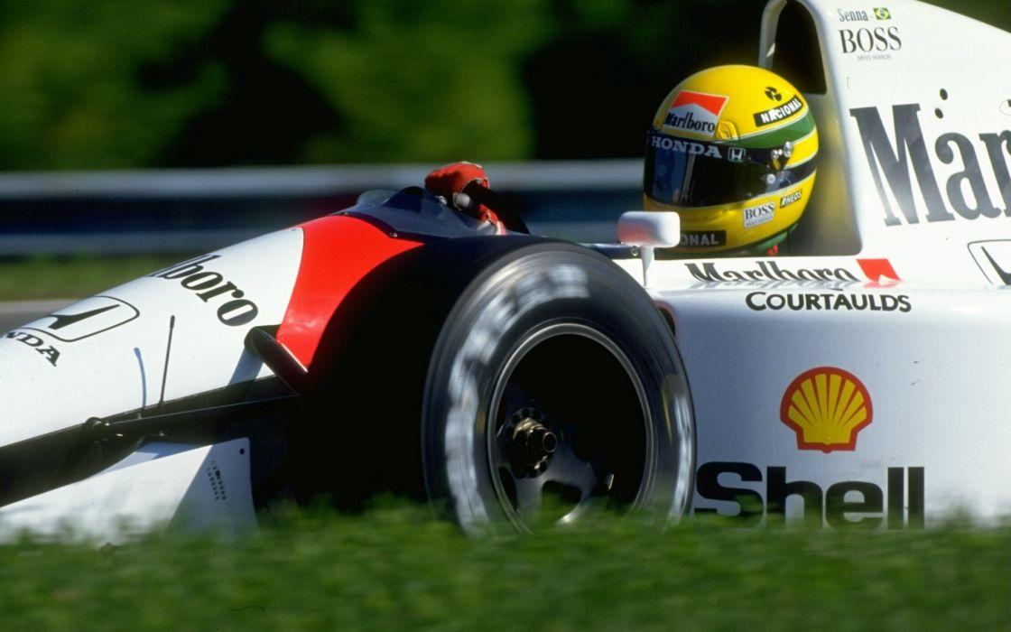 Formula One Ayrton Senna McLaren Senna wallpaper