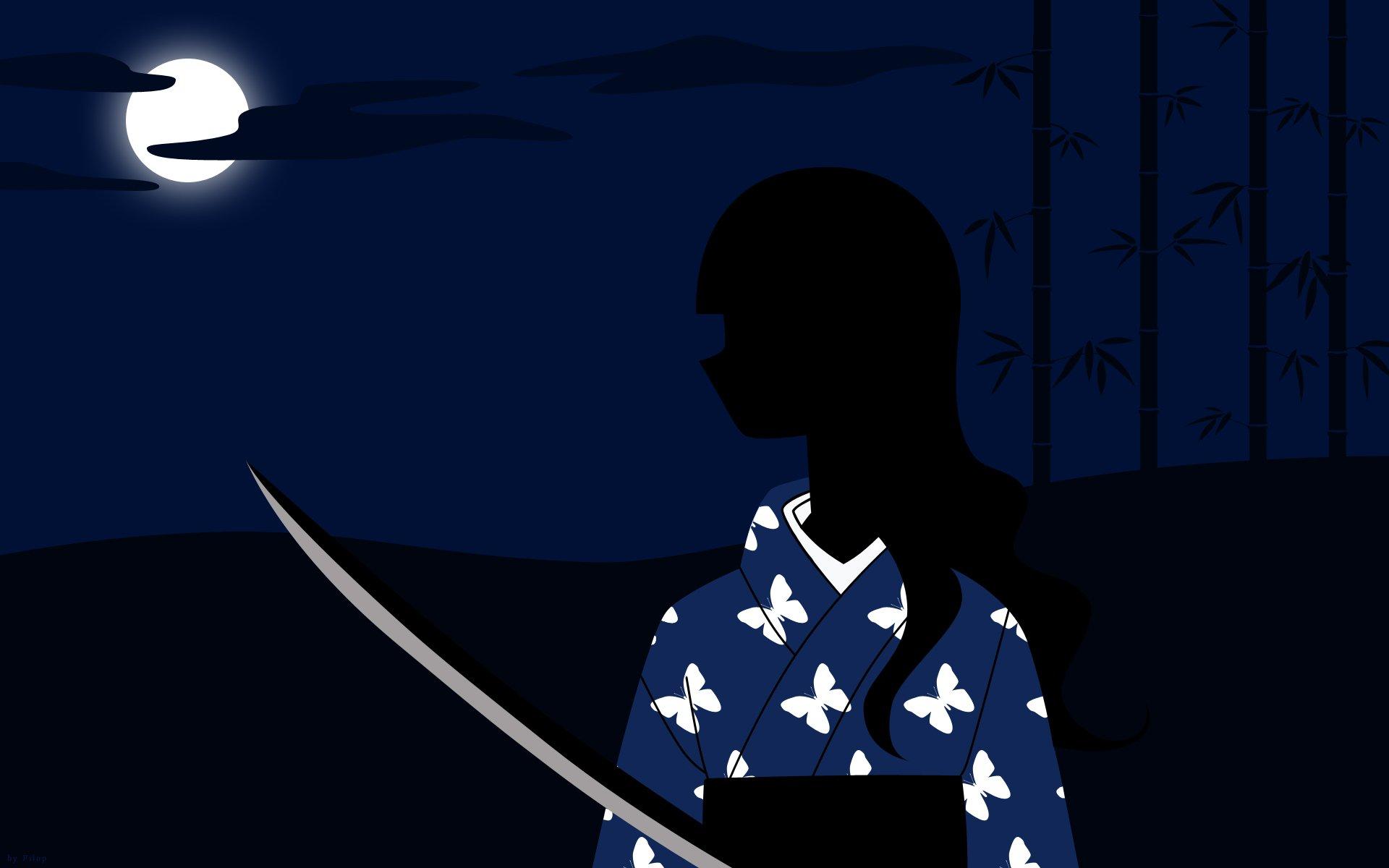 Sayonara Zetsubou Sensei Blue Clouds Dark Dress Night