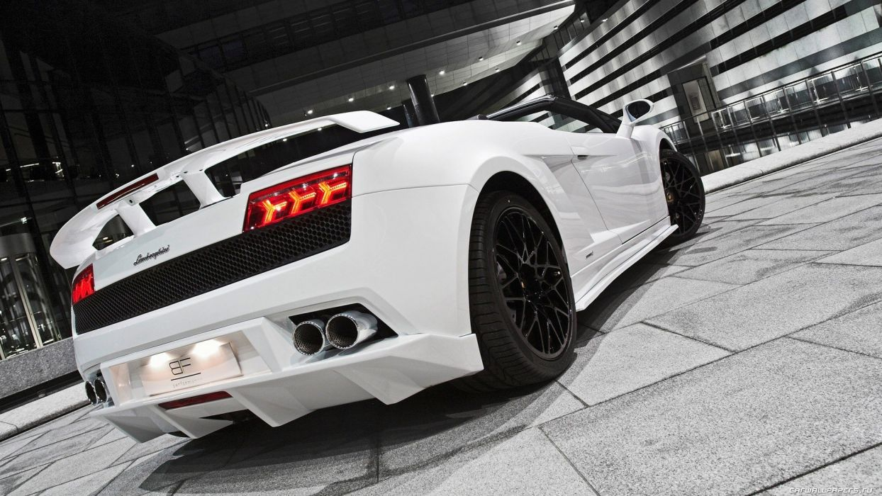 white cars Lamborghini wheels coupe races racing cars speed automobiles wallpaper