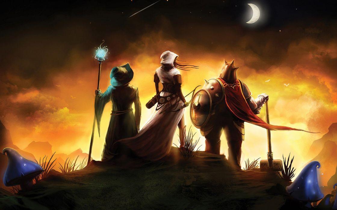 video games Moon Trine wallpaper
