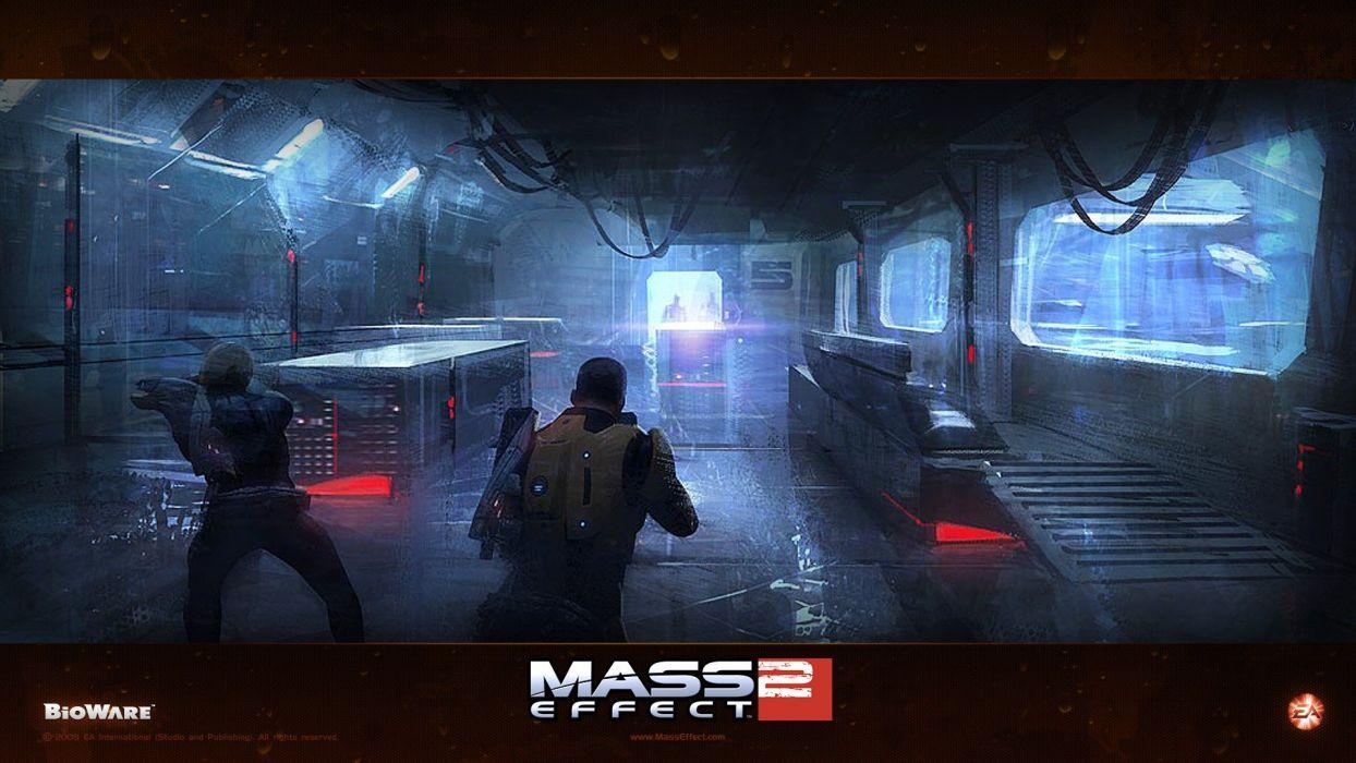 video games Mass Effect 2 wallpaper