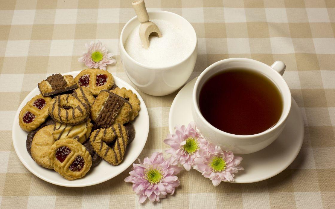 tea milk breakfast wallpaper
