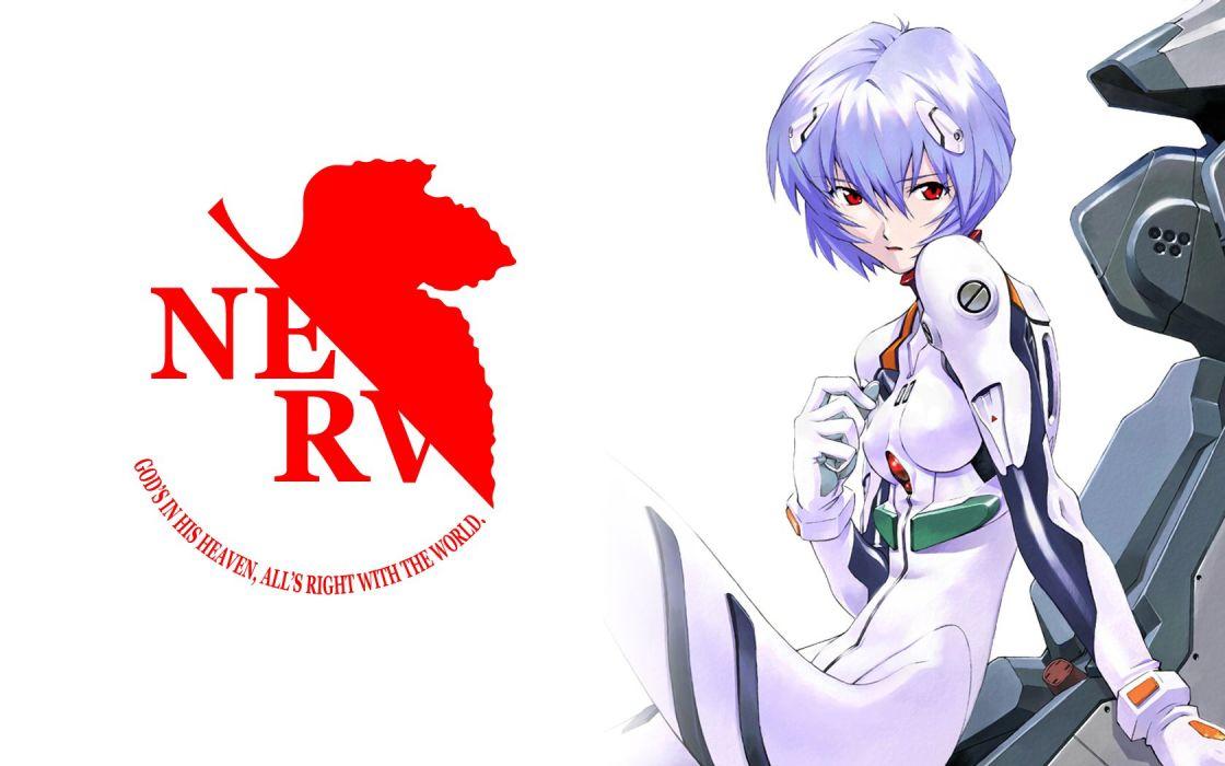 Ayanami Rei Neon Genesis Evangelion NERV Wallpaper