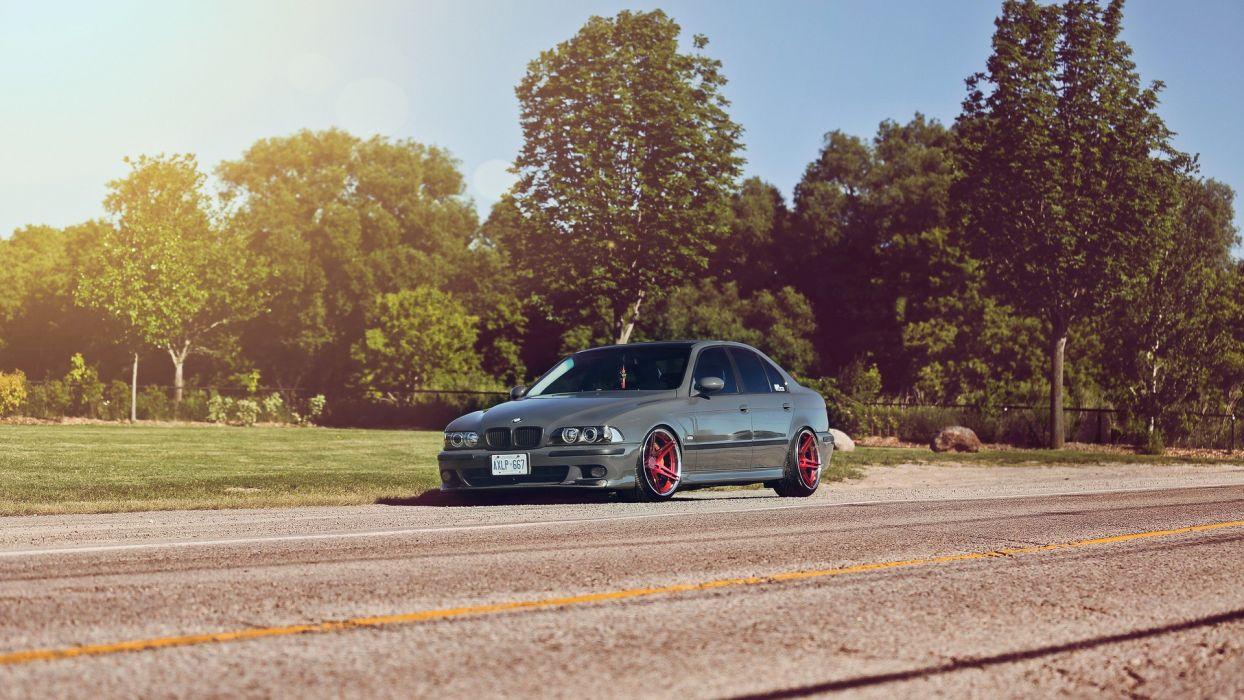 BMW cars rims BMW 5er E39 wallpaper
