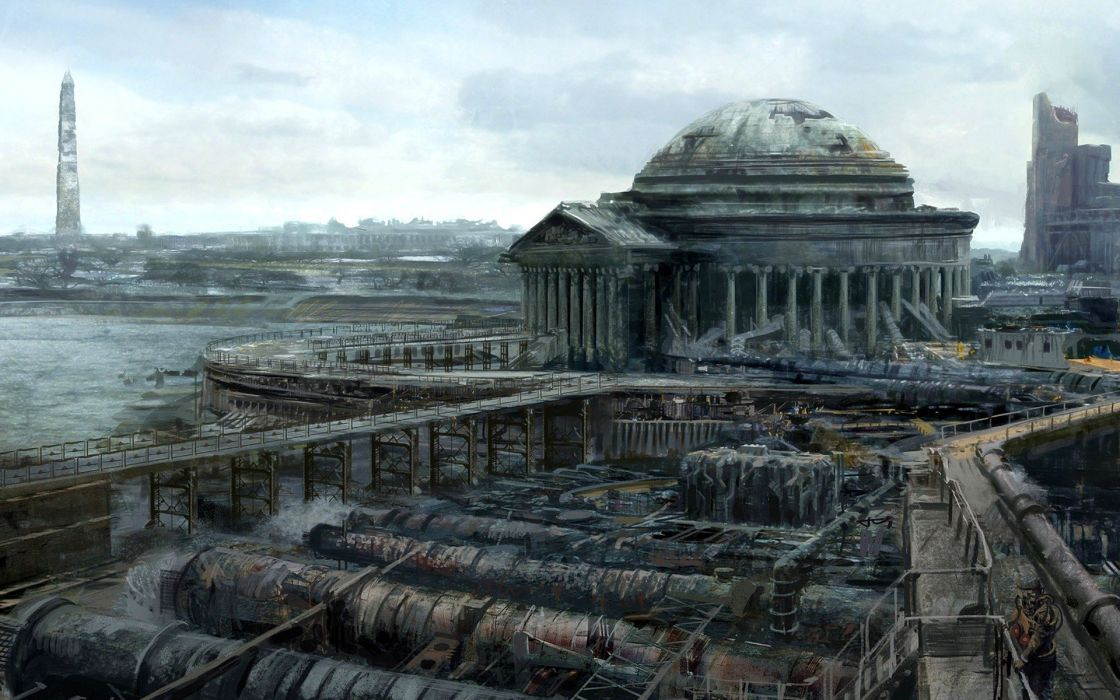fantasy fantasy art Fallout 3 wallpaper