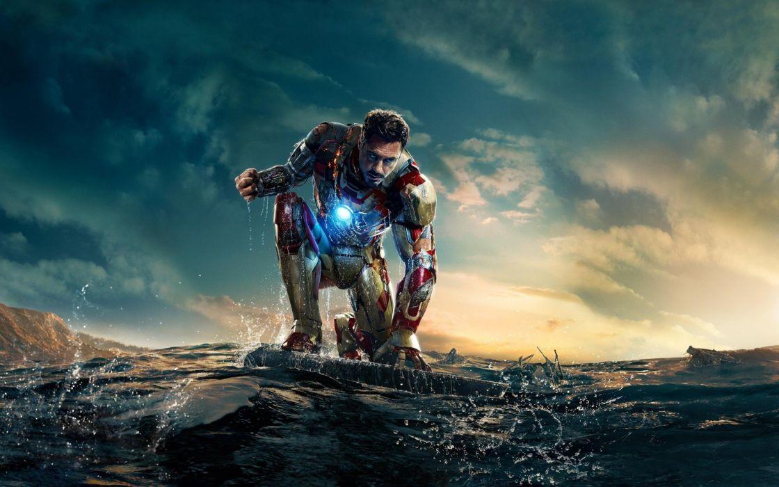 nature Iron Man suit Tony Stark Robert Downey Jr Iron Man 3 wallpaper