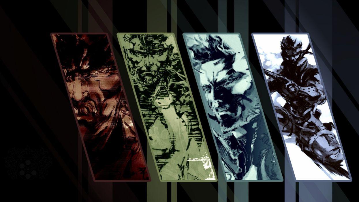 Metal Gear video games Metal Gear Solid wallpaper