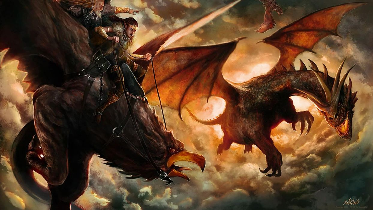 dragons Griffon wallpaper