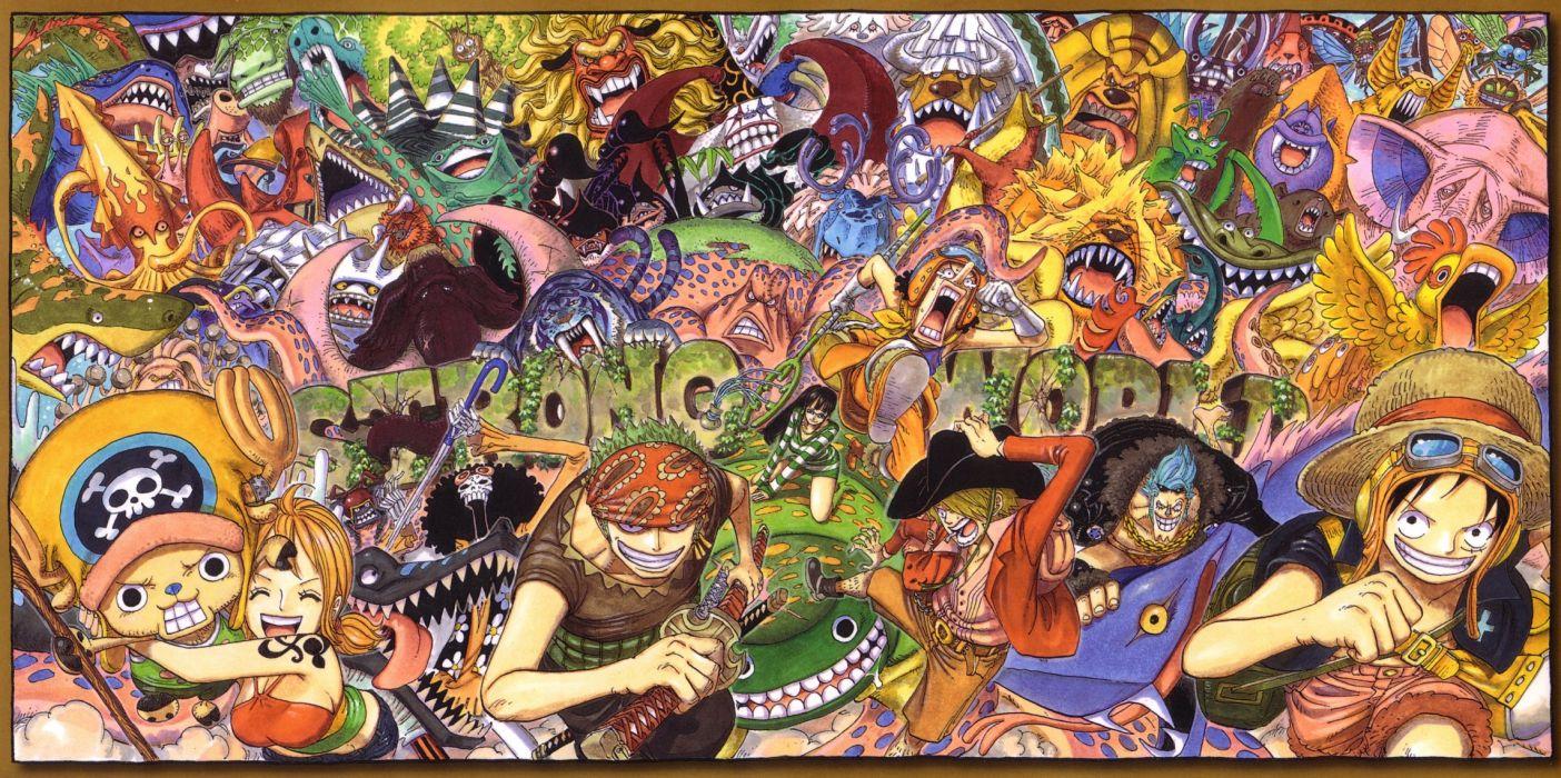 One Piece (anime) Nico Robin Roronoa Zoro chopper Monkey D Luffy Nami (One Piece) Usopp Sanji (One Piece) wallpaper