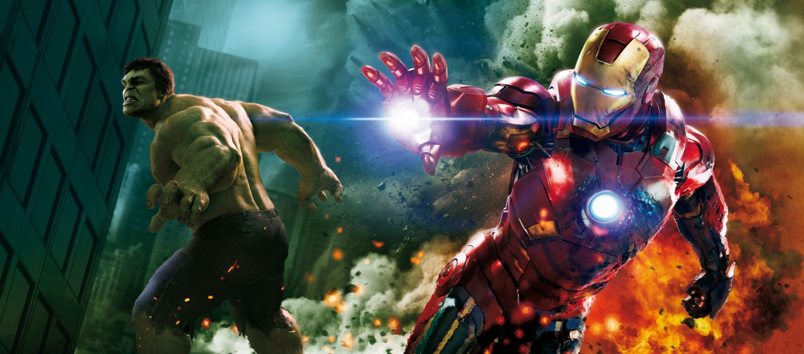 Avengers Movie - Avengers hulk iron man wallpaper