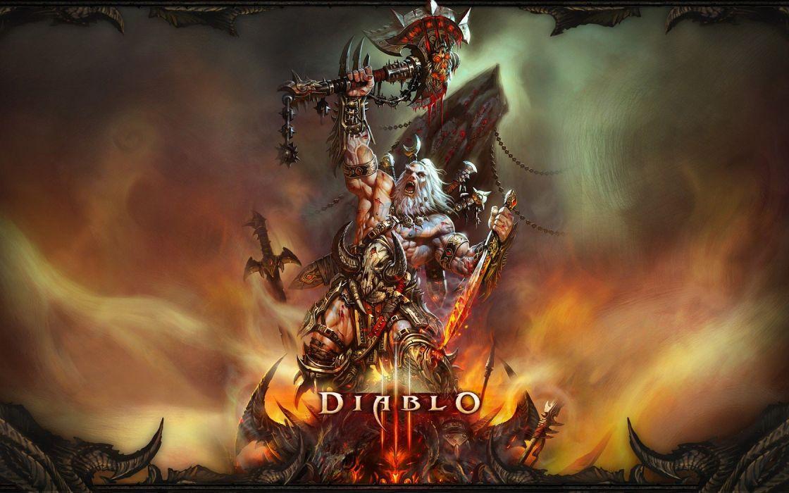 Diablo barbarian wallpaper