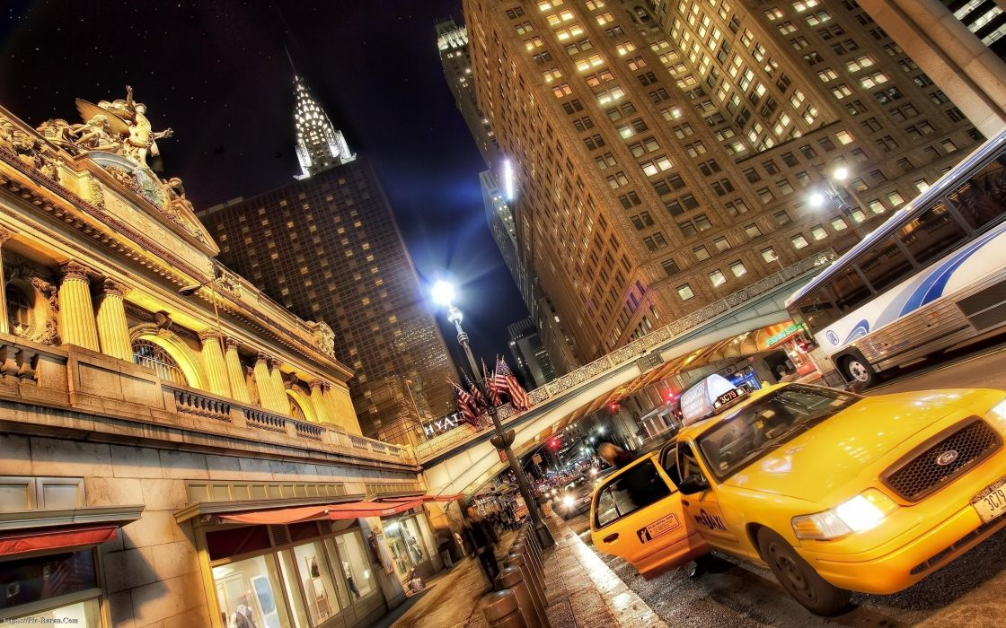 cityscapes traffic New York City cities wallpaper